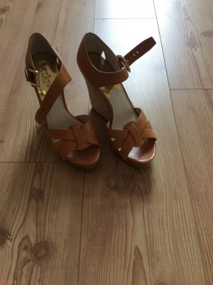 Michael Kors Wedges in braun
