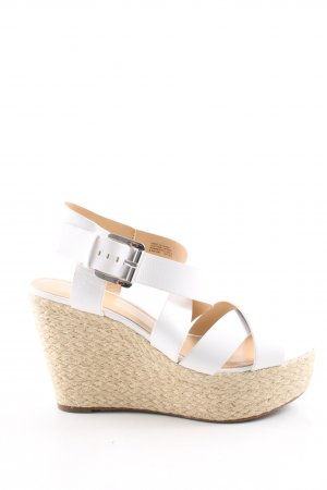 Michael Kors Wedges Sandaletten weiß Casual-Look