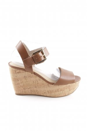 Michael Kors Wedges Sandaletten braun Beach-Look