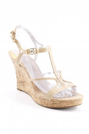 Michael Kors Wedges Sandaletten camel Casual-Look