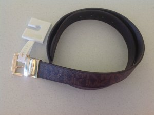 Michael Kors Reversible Belt bronze-colored-gold-colored