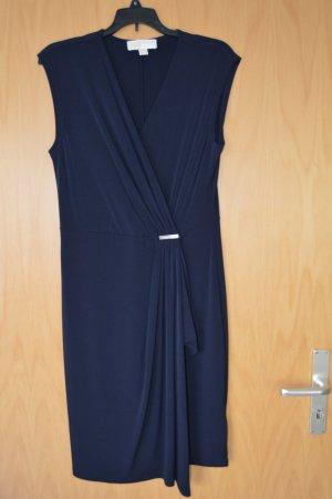 Michael Kors Robe portefeuille bleu foncé polyester