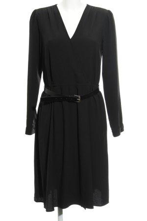 Michael Kors Wickelkleid schwarz Elegant