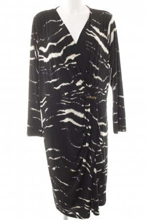 Michael Kors Wraparound black-white abstract pattern elegant