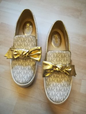 Michael Kors Slippers gold-colored-oatmeal
