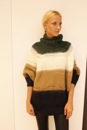 Michael Kors Poncho multicolored wool