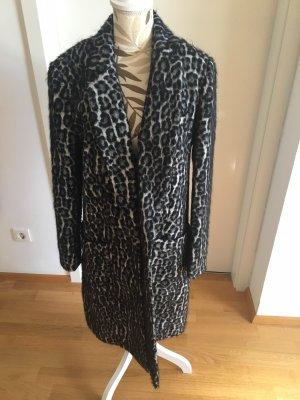 Michael Kors Cappotto in lana grigio-nero