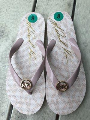 Michael Kors Sandalo toe-post rosa antico-rosa chiaro