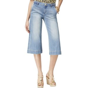 Michael Kors Jeans a 7/8 multicolore Cotone