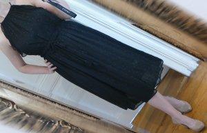Michael Kors Robe chiffon noir