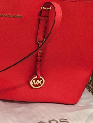 MICHAEL MICHAEL KORS Jet Set Travel Saffiano Leather