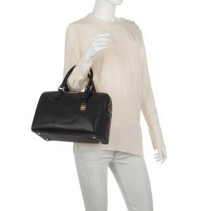 Michael Michael Kors Mercer MD Duffle BAG Leather Black