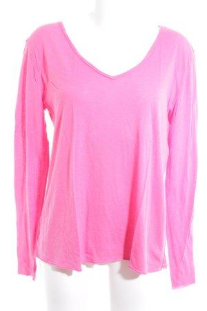 Michael Stars Camicia lunga rosa stile casual