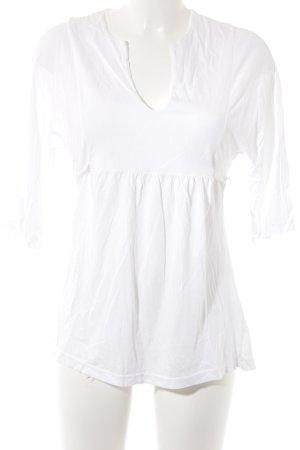 Michael Stars Blusa in merletto bianco stile casual