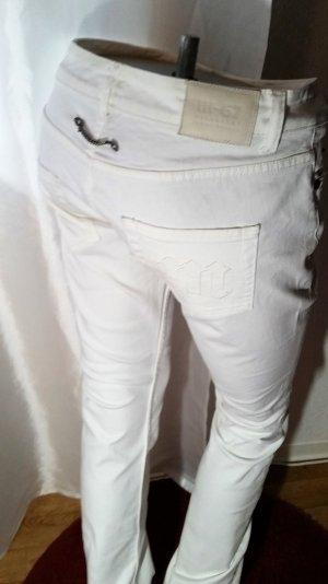 Michaelski Berlin Knackpo! Jeans Sehr hüftig weiß