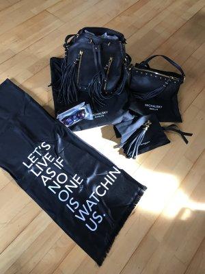 Michalsky Tasche, Pochette, Seidentuch, Sonnenbrille und Schlüsselanhänger