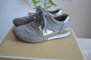 Michael Kors Skater Shoes silver-colored