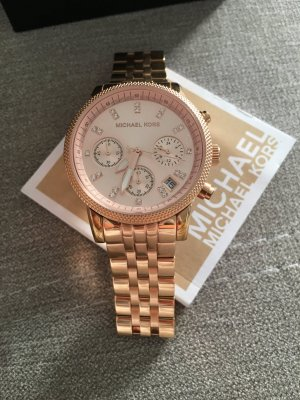 *Micheal Kors Uhr Rose/Gold*