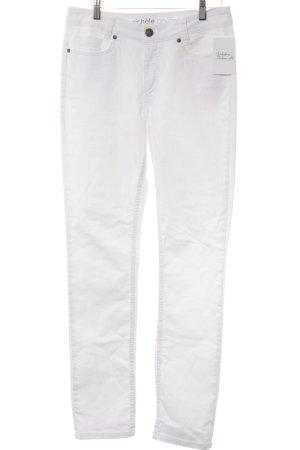 Michele Boyard Skinny Jeans weiß Casual-Look
