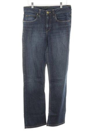 Michele Boyard Straight-Leg Jeans dunkelblau Casual-Look