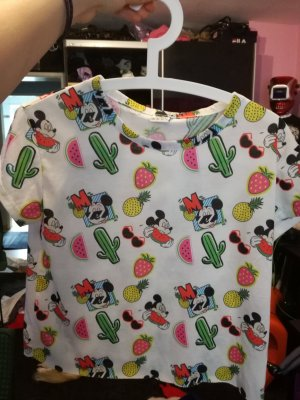 mickey crop shirt gr s