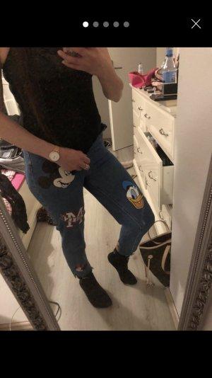 Mickey Maus Jeans Hose