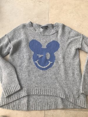 Mickey Maus SET Pullover Gr 38 Woll Pullover warm Winter