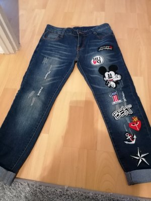 Disney Low Rise Jeans azure-cornflower blue