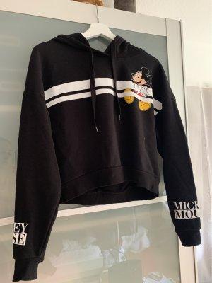 Disney Jersey con capucha negro-blanco