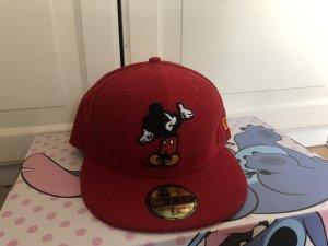 New Era Sun Hat red