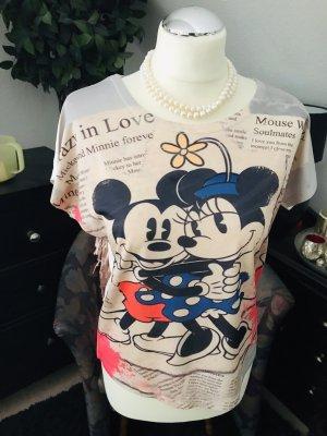 Disney Camicia fantasia crema-rosso chiaro