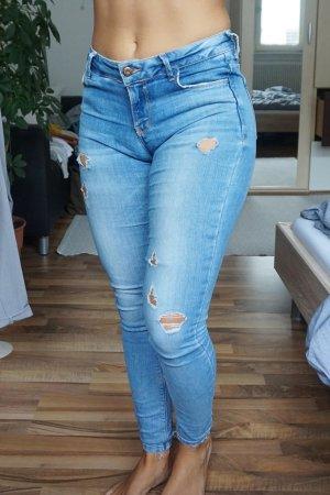 Mid Waist Jeans Zara