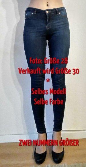 Mid Waist Skinny Jeans FLORA