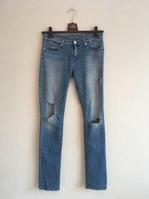 """Mid Waist Slim Jeans """"Odessa"""" W28 L32"""