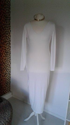 Midaxi Kleid mit V-Ausschnitt