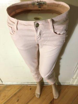 Middle-Waist Jeans rosa