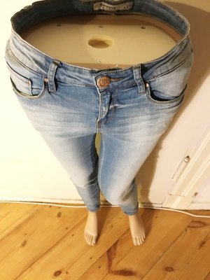 Middle Waist, Skinny Jeans, destroyed 27/30