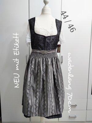 Stockerpoint Vestido Dirndl gris-gris antracita