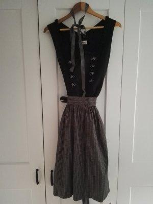 Almsach Robe mi-longue noir