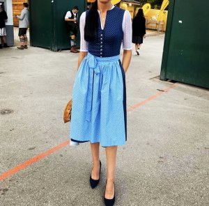 Berwin & Wolff Dirndl blue-light blue