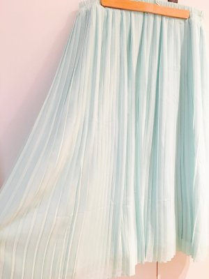 Midi Faltenrock von H&M in stylischem Mint!