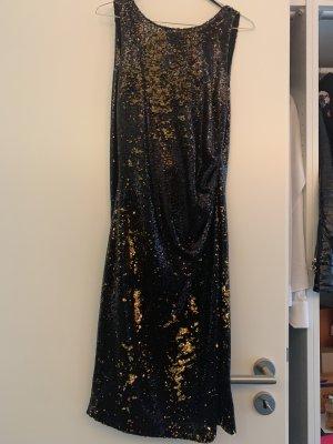 Zara Abito con paillettes nero-oro