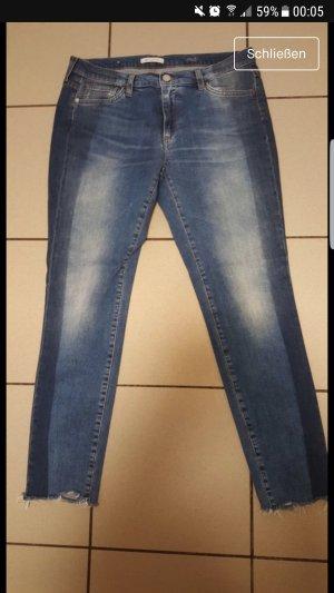 midi jeans im vintage style