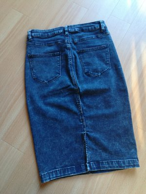 Midi Jeansrock Stretch Acid Wash forever 21