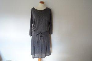 Midi Jersey Kleid mit Gürtel