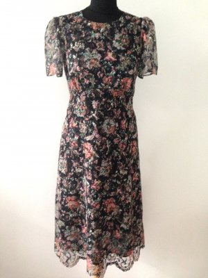 Zara Woman Jurk veelkleurig Polyester