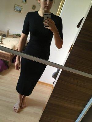 Midi-Kleid Basic schwarz