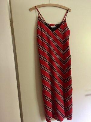 Midi Kleid gestreift