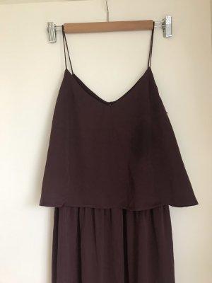 Midi-Kleid in Pflaume (Größe 38)