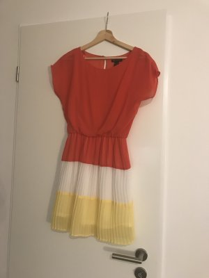 Midi Kleid in Sommerfarben
